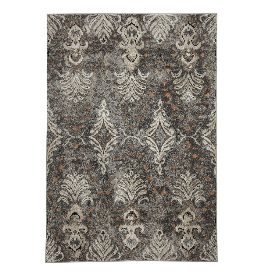 Gray Taupe And White Bedroom Curatins: Vidonia Gray And Taupe Large Rug Signature Design