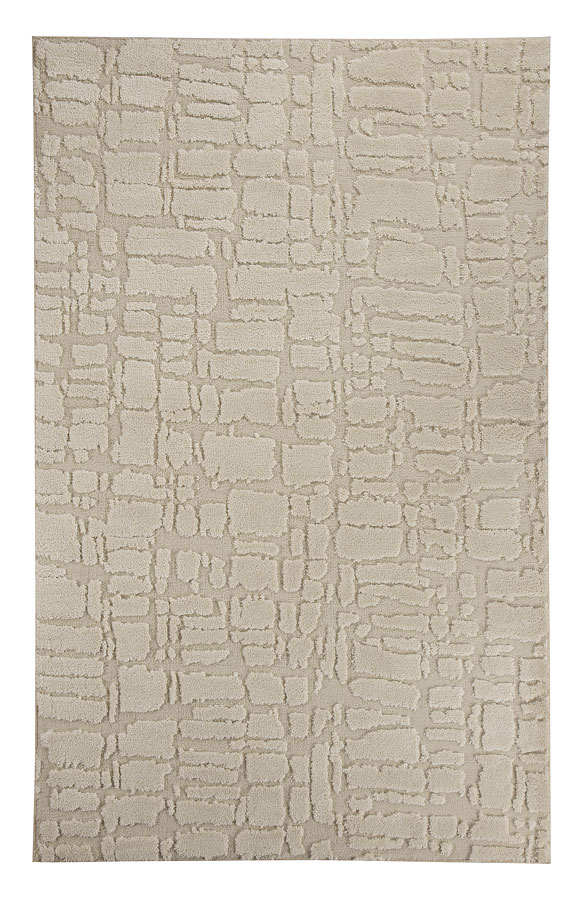 Dugan Cream And Taupe Large Rug