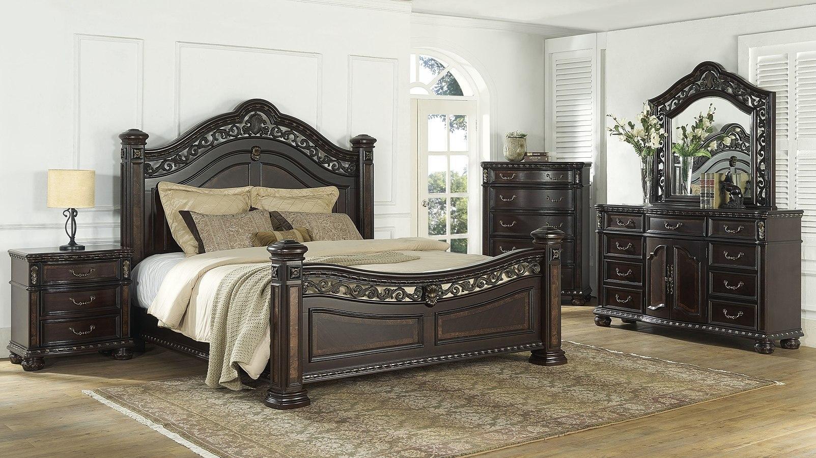 Monte Carlo Poster Bedroom Set Steve Silver Furniture Furniture Cart