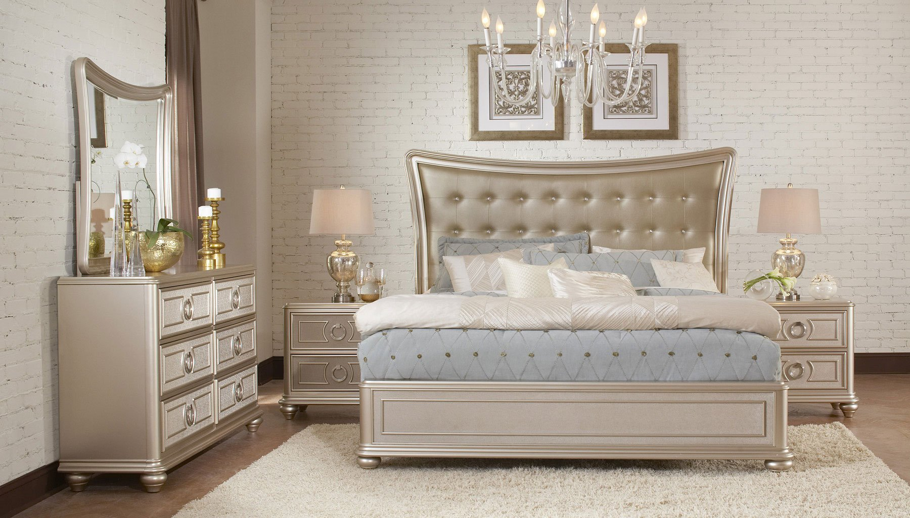 Attrayant Dynasty Panel Bedroom Set