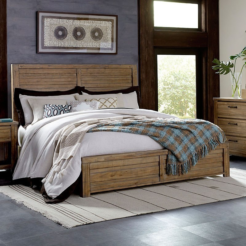 SoHo Panel Bed Cool Bedroom Boards Collection