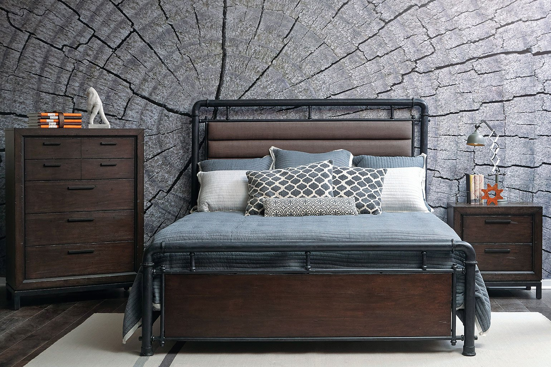 Fulton Street Steam Pipe Bedroom Set
