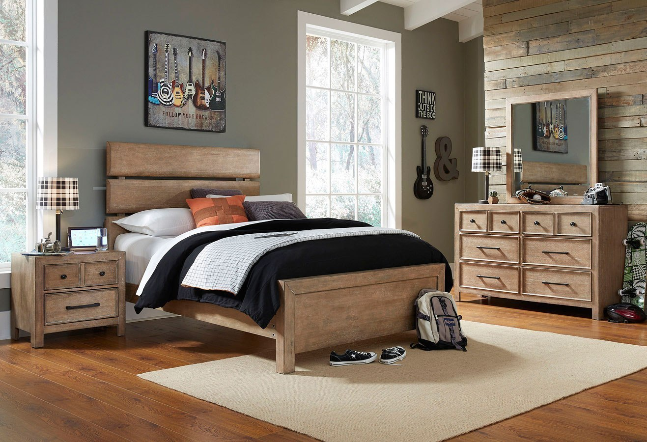 Austin Panel Bedroom Set
