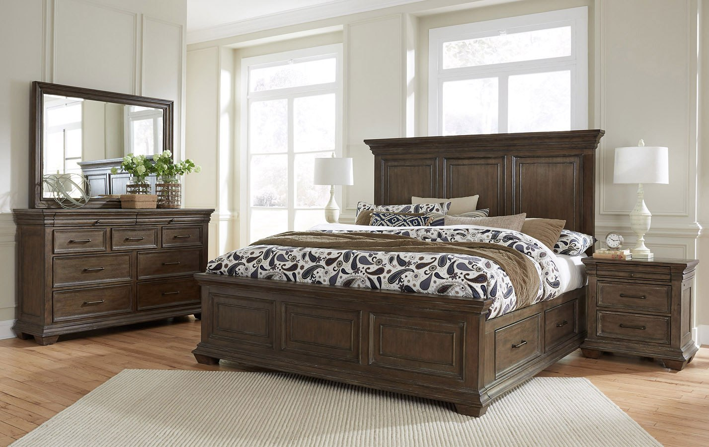Camden Storage Bedroom Set Samuel Lawrence Furniture ...