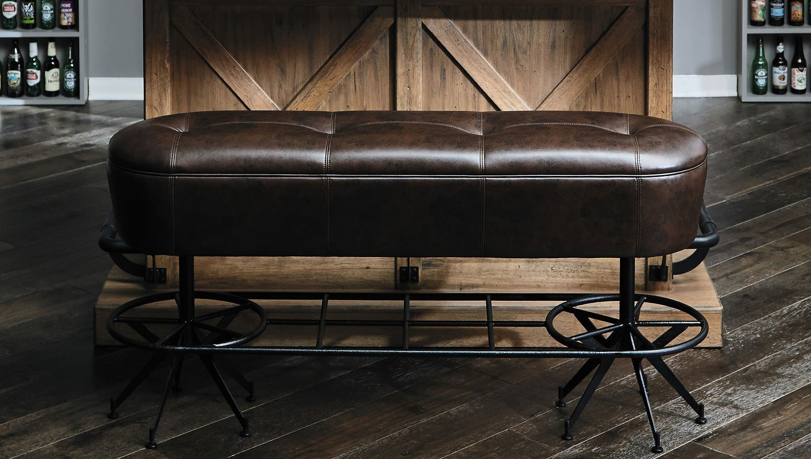 Furniture City Brewing Blonde Ale House Bar Bench