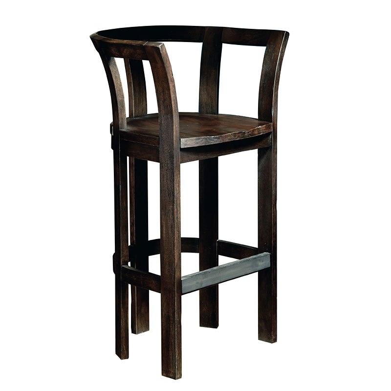 Furniture City Brewing Stout Barrel Bar Chair
