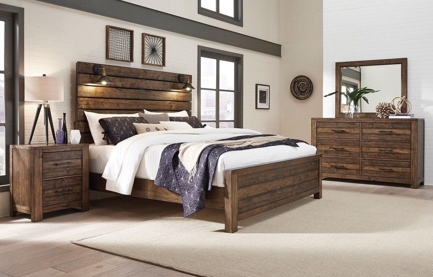 Dakota Panel Bedroom Set