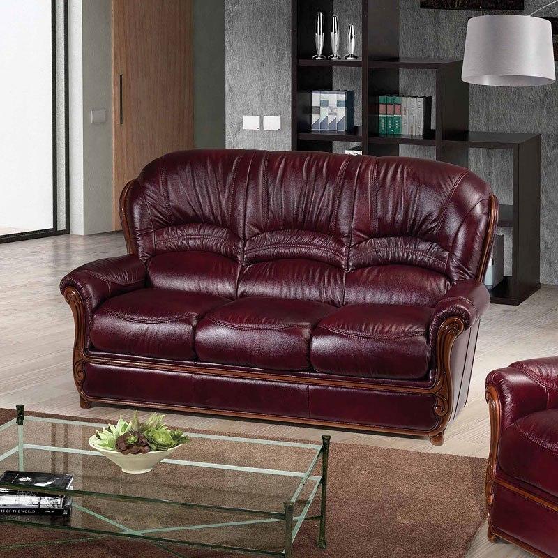Sara Italian Leather Sofa ESF Furniture | Furniture Cart