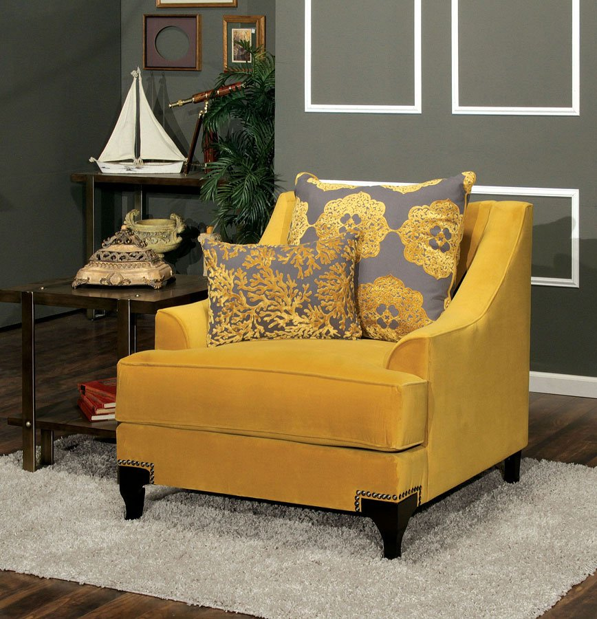 Fabulous Viscontti Living Room Set Gold Interior Design Ideas Tzicisoteloinfo