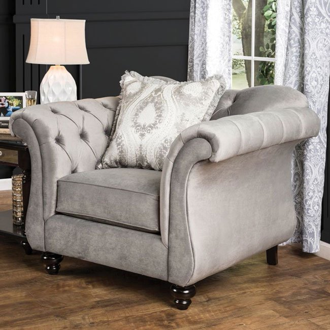 Ashley Furniture Beaumont Texas: Antoinette II Living Room Set (Dolphin Gray) Furniture Of