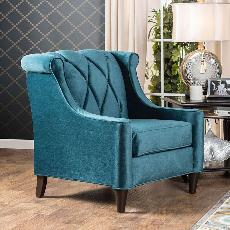 Attrayant Limerick Chair (Dark Teal) By Furniture Of America