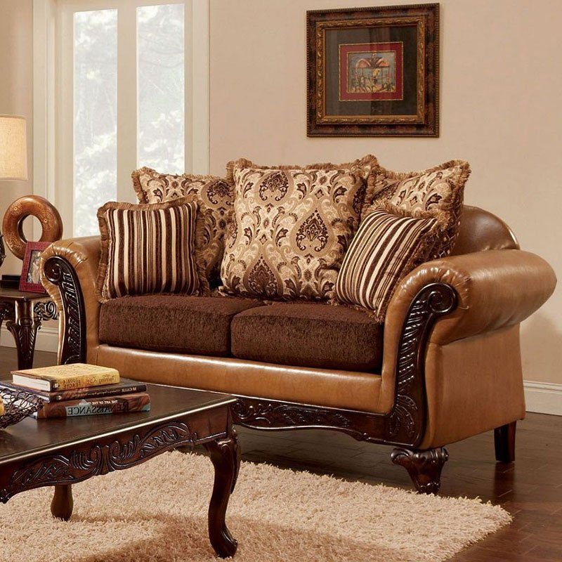 Furniture Of America Living Room Collections: Isabella Living Room Set Furniture Of America