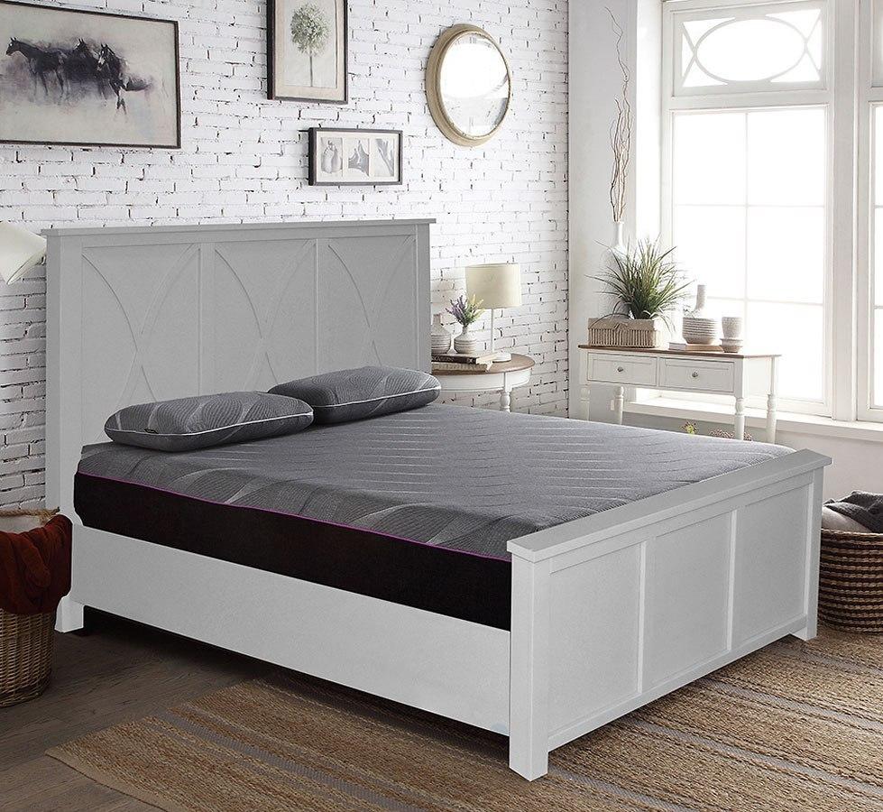 Salinas Panel Bed (Goose Down Grey) Legends Furniture