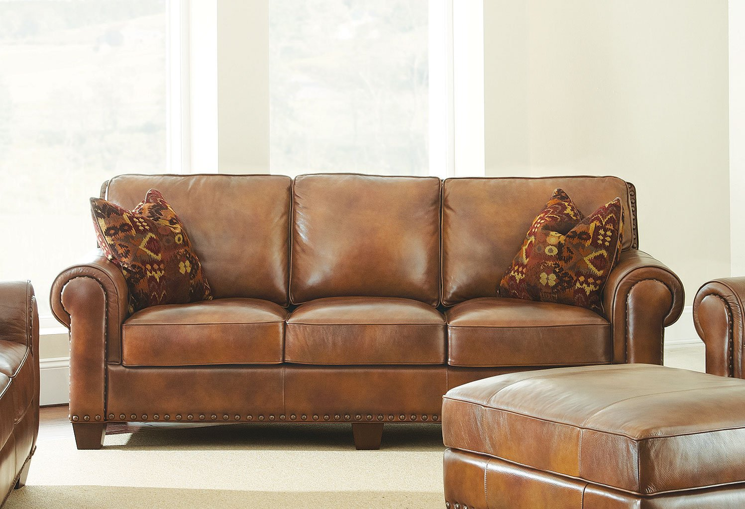 Silverado Leather Sofa