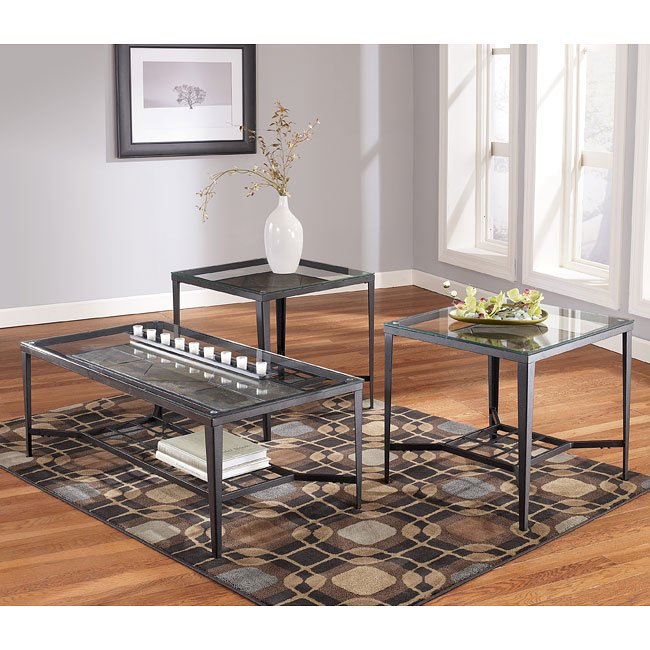Calder 3-in-1 Occasional Table Set