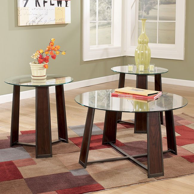 Giraurd 3-in-1 Occasional Table Set