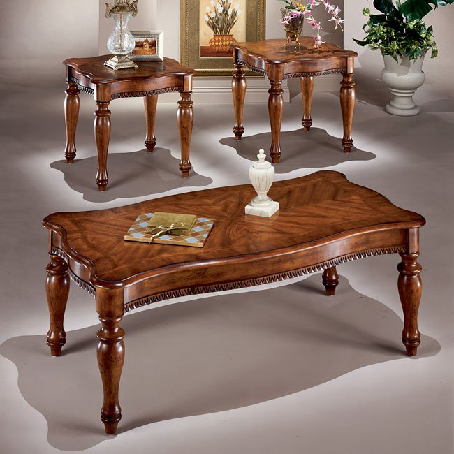Wilshire 3-in-1 Occasional Table Set