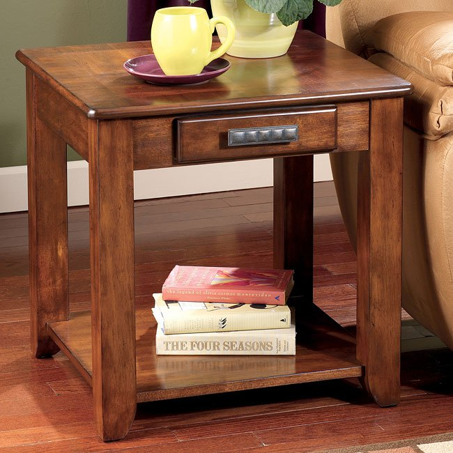 Lucca Rectangular End Table