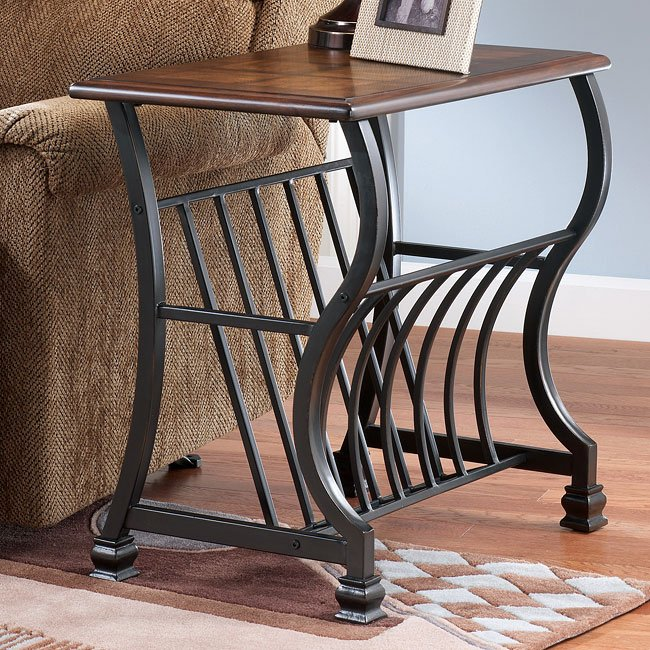 Wycliffe Chairside End Table