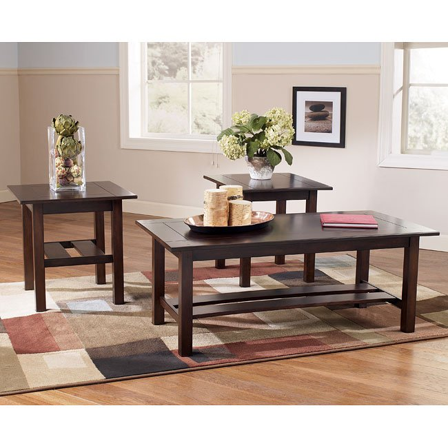 Lewis 3-in-1 Occasional Table Set
