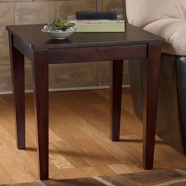 Mureal Square End Table