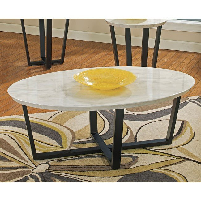 Ranett Oval Cocktail Table