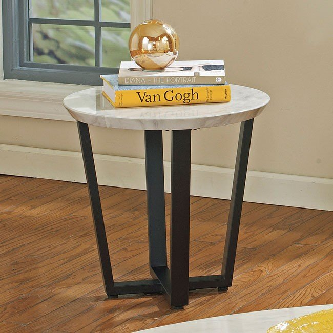 Ranett Round End Table