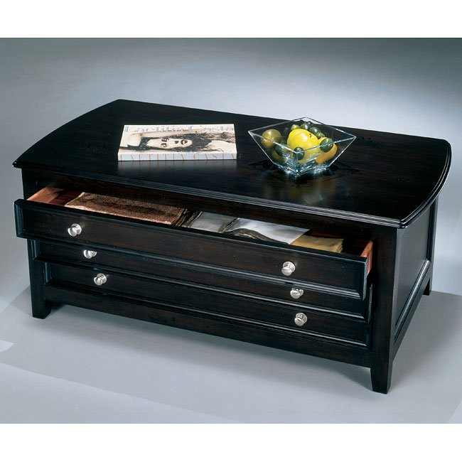 Carlyle Storage Cocktail Table
