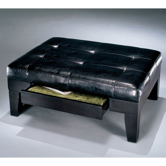 Carlyle Drawer Ottoman