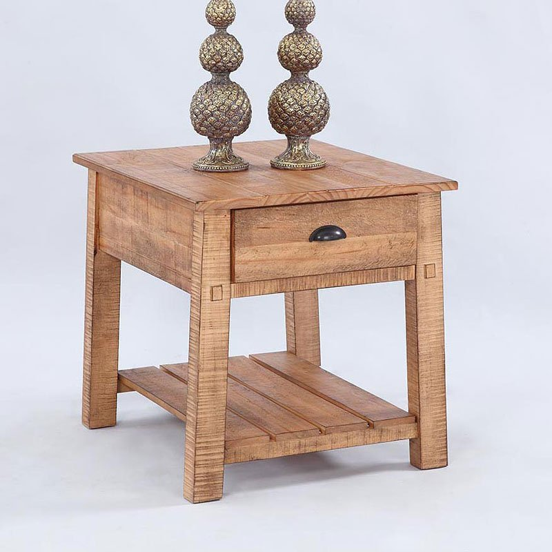 Willow End Table (Distressed Pine)
