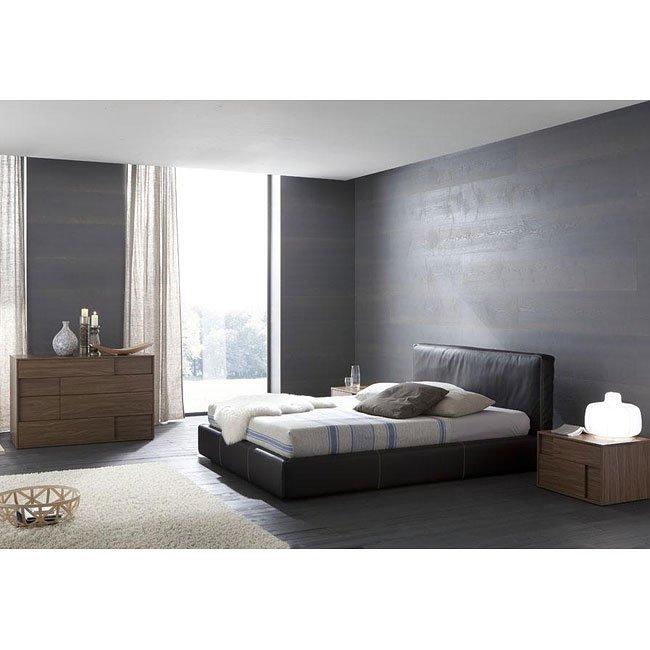 Touch Platform Bedroom Set (Brown)