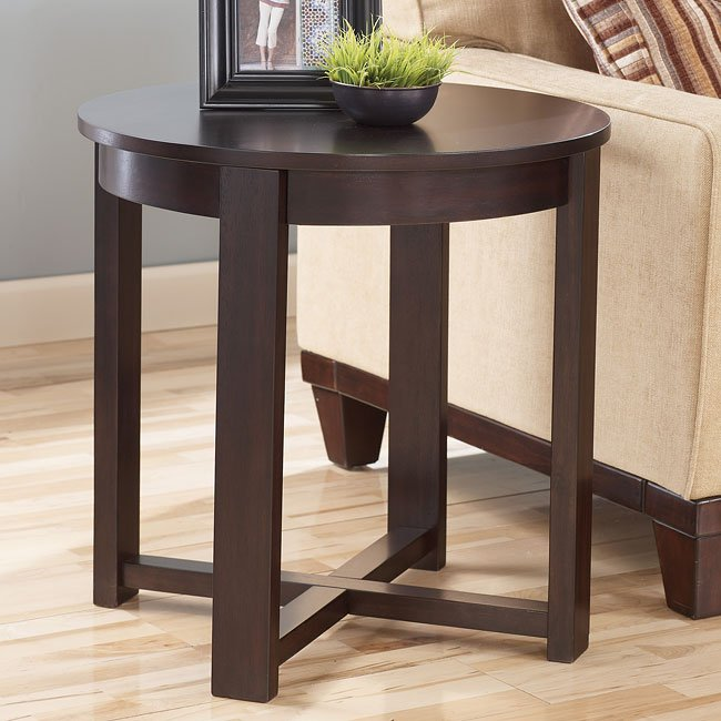Holden Round End Table