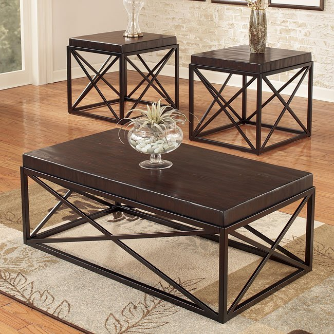 Bristle 3-in-1 Pack Occasional Table Set