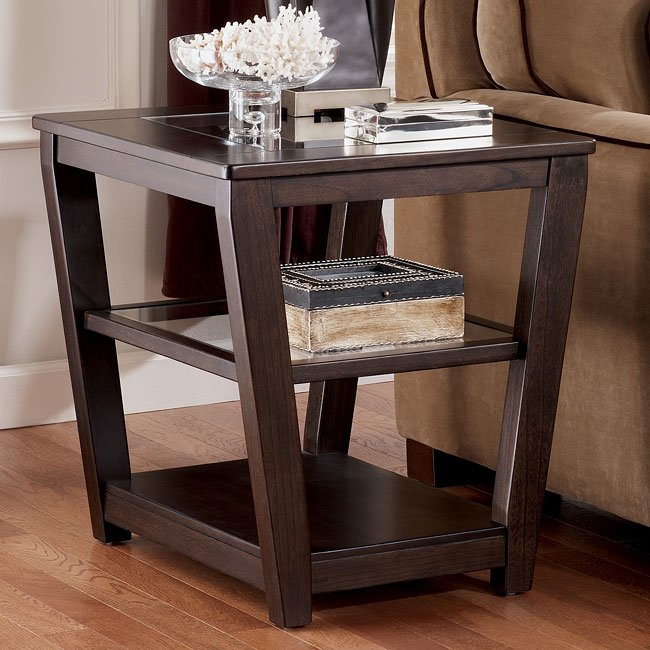 Caron Square End Table