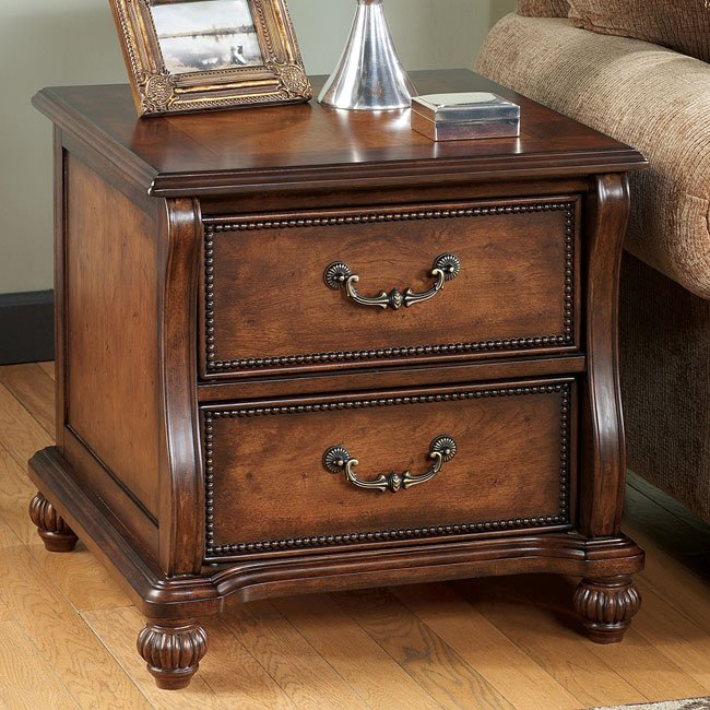 Shelton Rectangular End Table