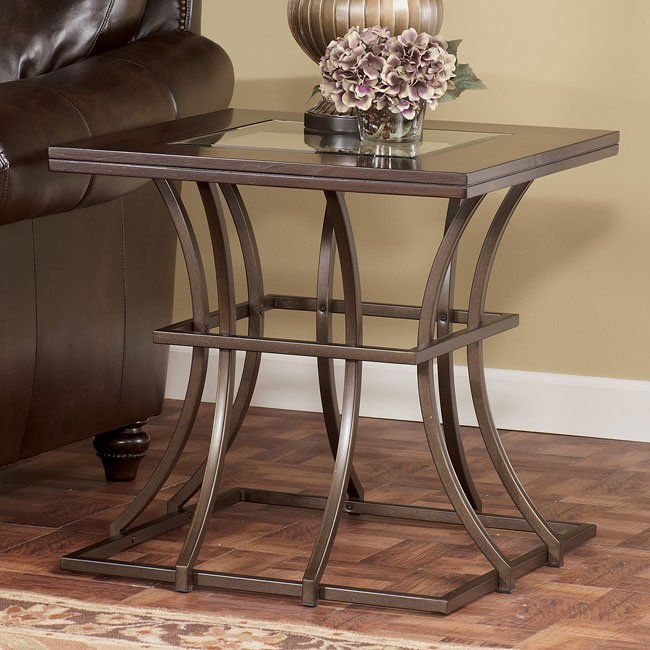 Mambassa Square End Table