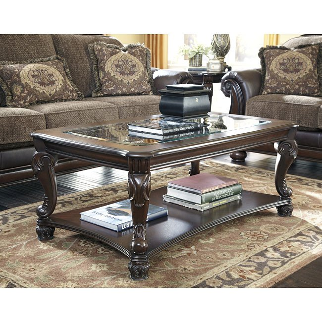Norcastle Sofa Table: Norcastle Occasional Table Set Signature Design