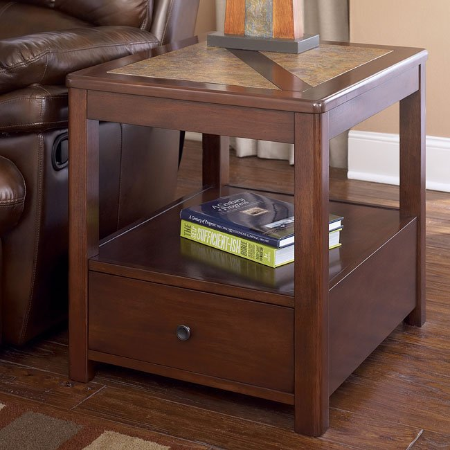 Maddox Rectangular End Table