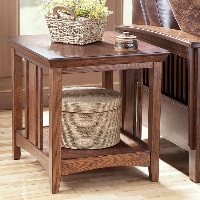 Prairie View Rectangular End Table