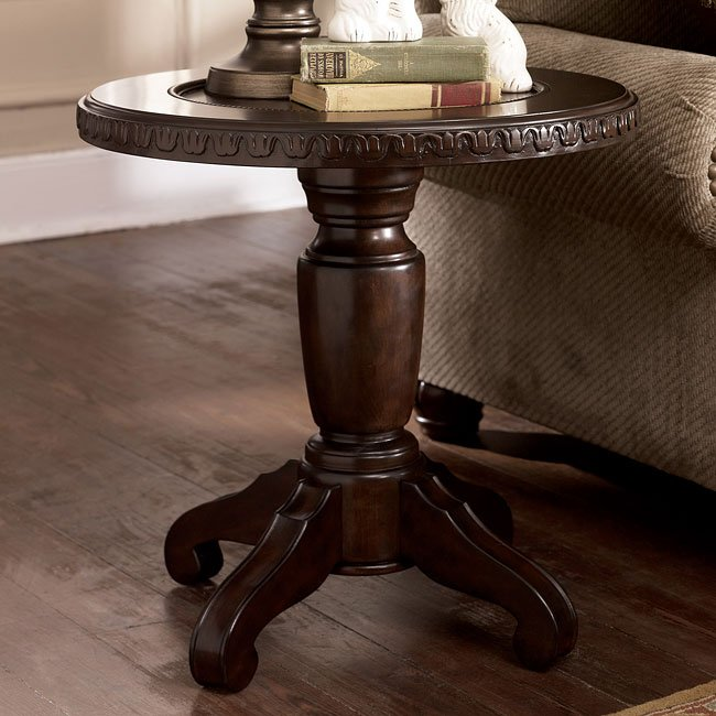 Manwell Round End Table