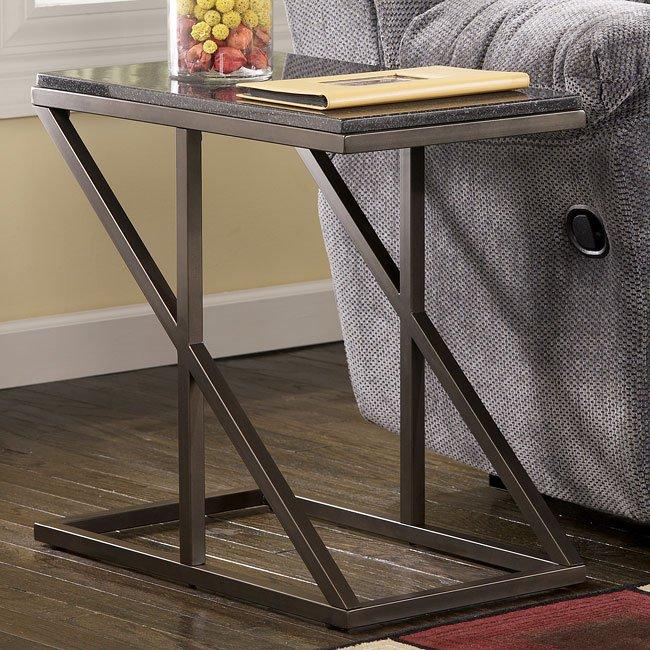 Zenix Chairside End Table