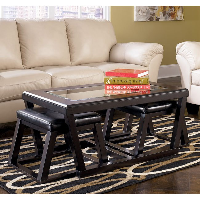 Kelton Occasional Table Set Signature Design Furniture Cart