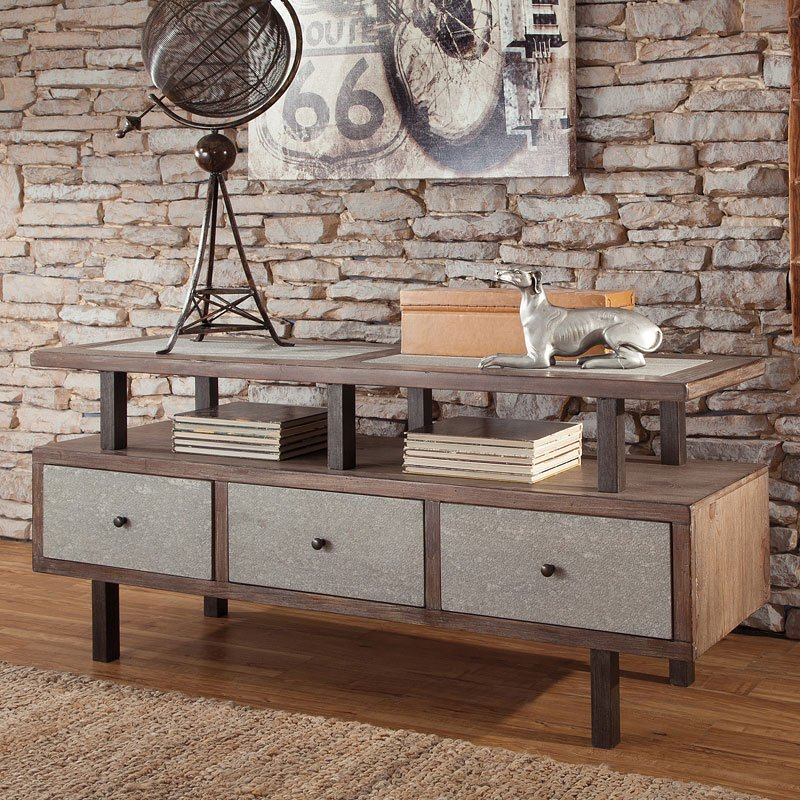 Tamilo Console Table Signature Design Furniture Cart