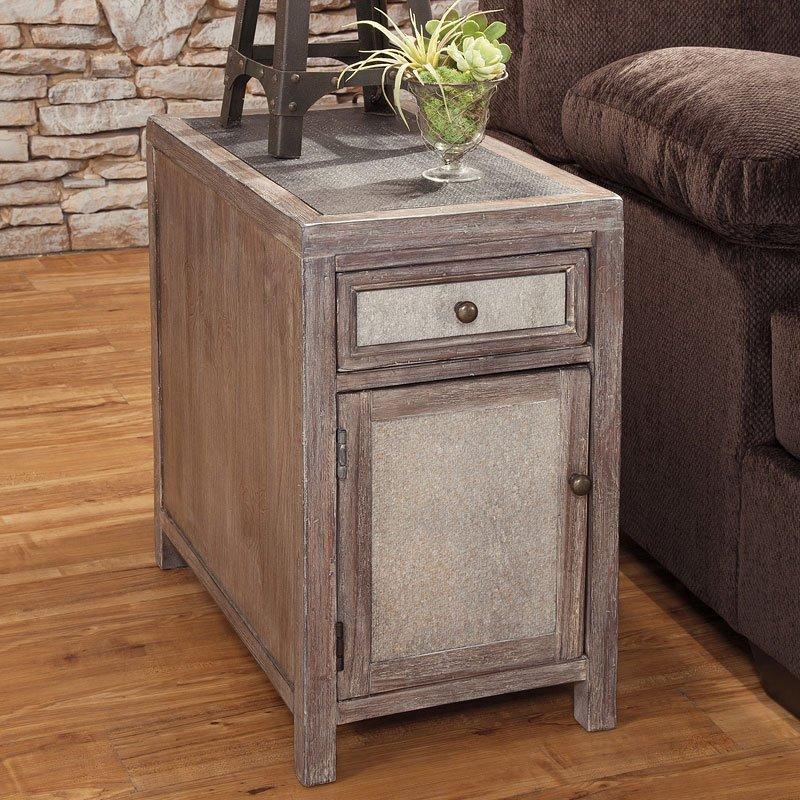 Tamilo Chairside Table Signature Design Furniture Cart
