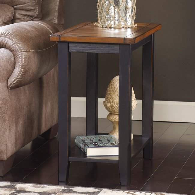 Paskene Chair Side End Table