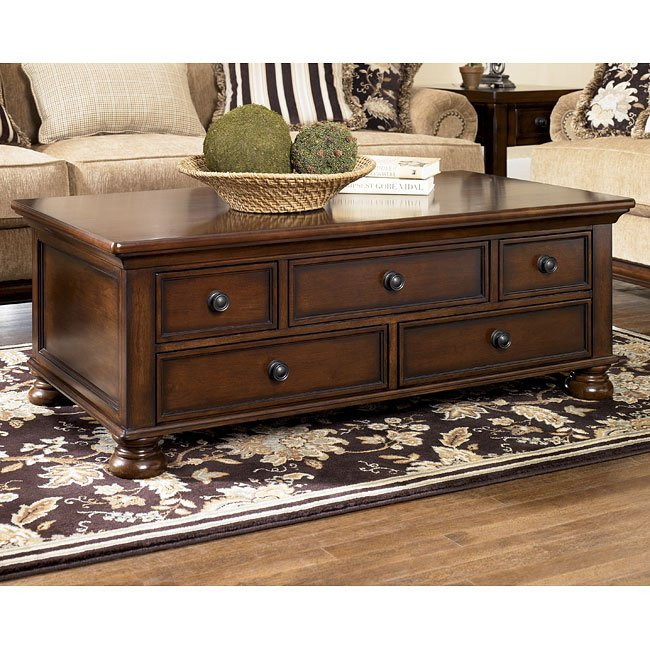 Porter Storage Occasional Table Set Signature Design 1