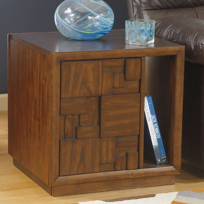 Barstrom Square End Table
