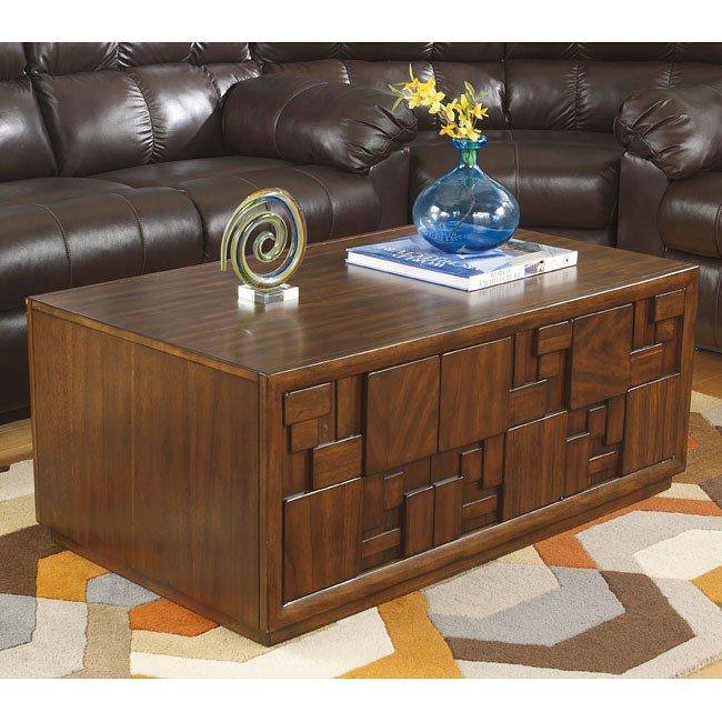 Barstrom Cocktail Table w/ Storage