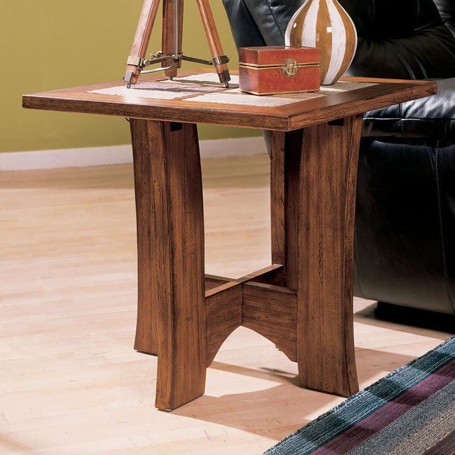 North Branch Square End Table
