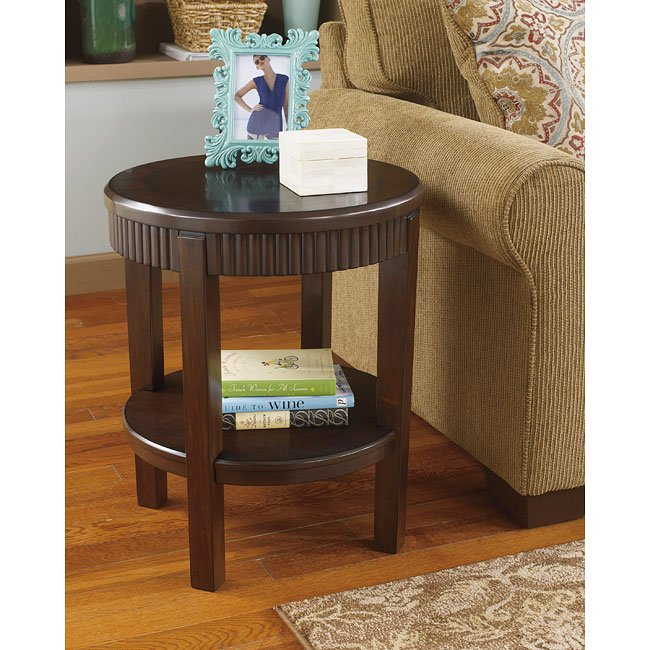 Marxmir Round End Table